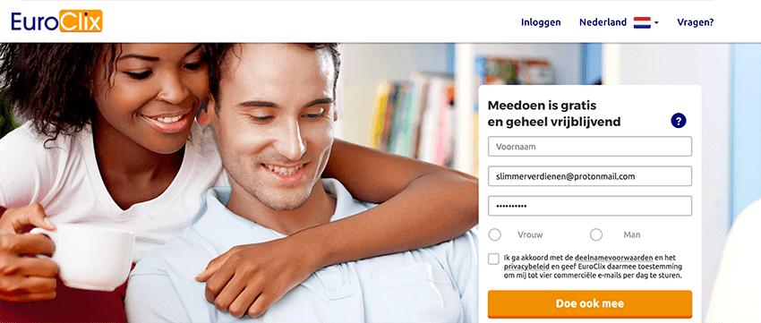 EuroClix is een van de betere spaarprogramma websites