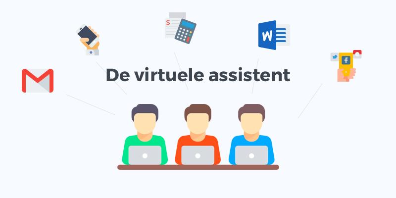 Een virtuele assistent regelt allerlei dagelijkse zaken voor andere ZZP'ers en ondernemers welke het te druk hebben hiervoor.
