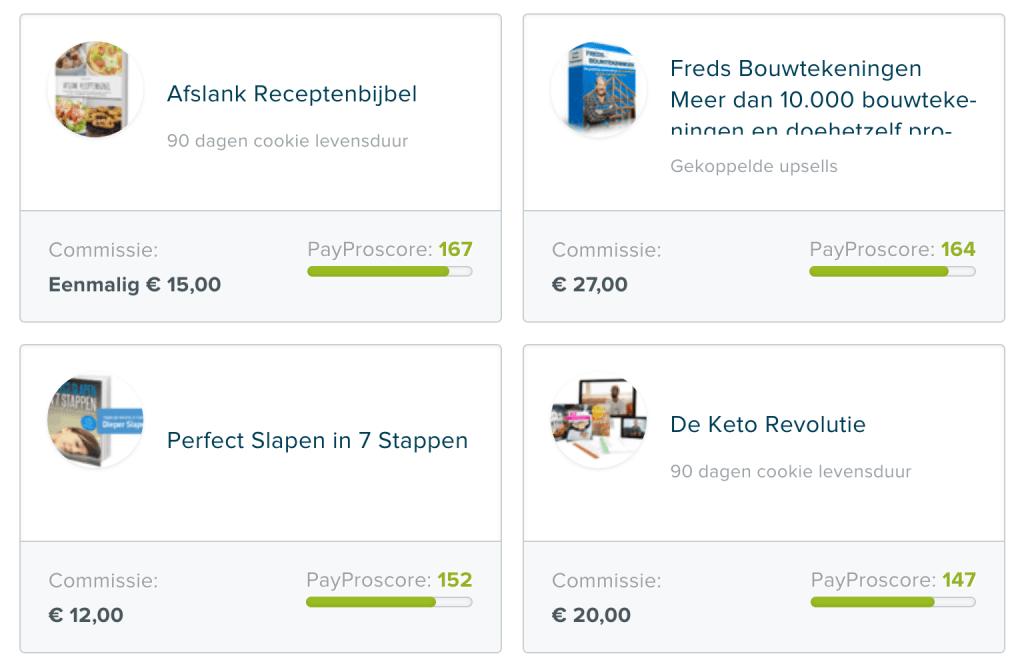 Digitale producten promoot je via PayPro