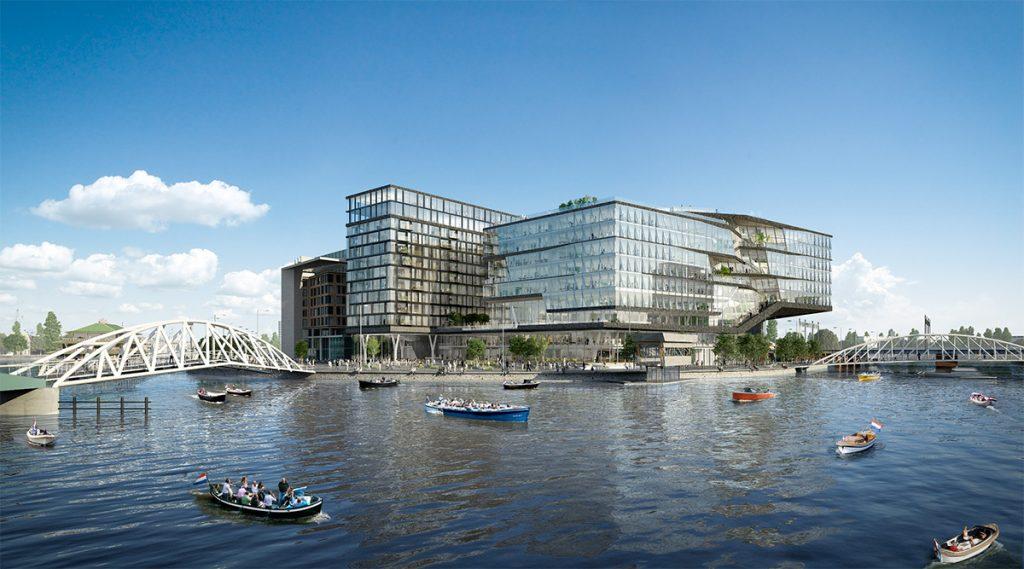 Het nieuwe kantoor van 270 miljoen euro voor Booking