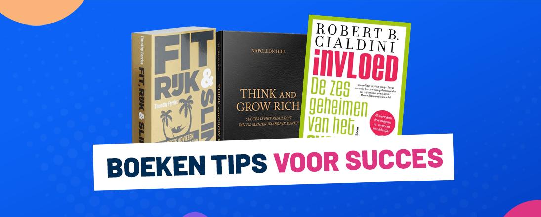Dit zijn mijn favoriete boeken voor succes, ondernemen, mindset en geld!